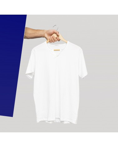 "Anonym Apparel : T-Shirt col tunisien ""Jimmy"""